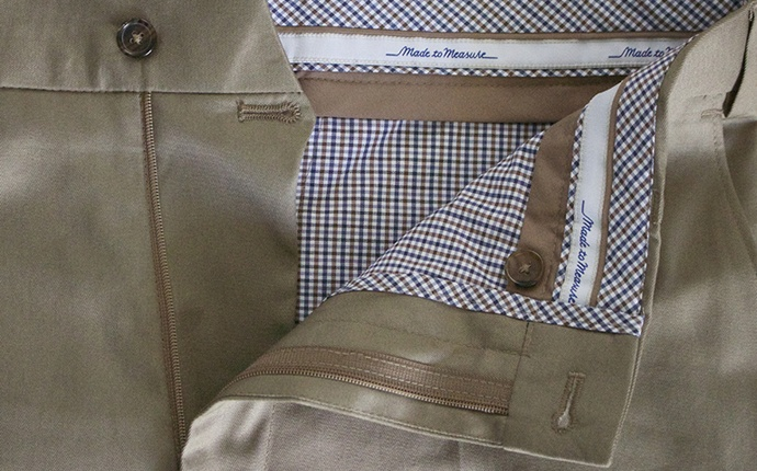 custom made chinos