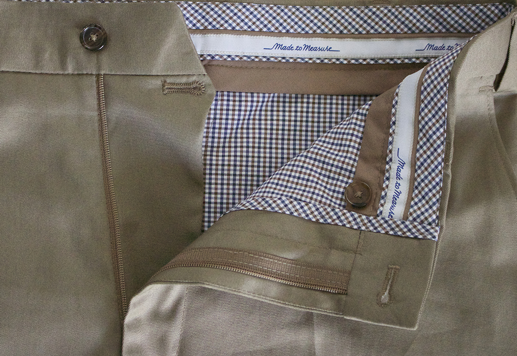 tailor made chinos