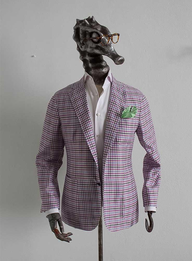 wool blend tailor made blazer