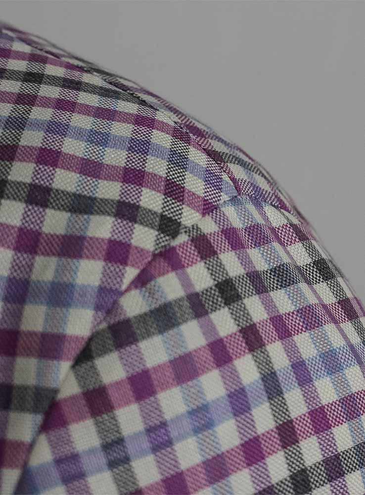 Tailor made blazer shoulder in neopolitan