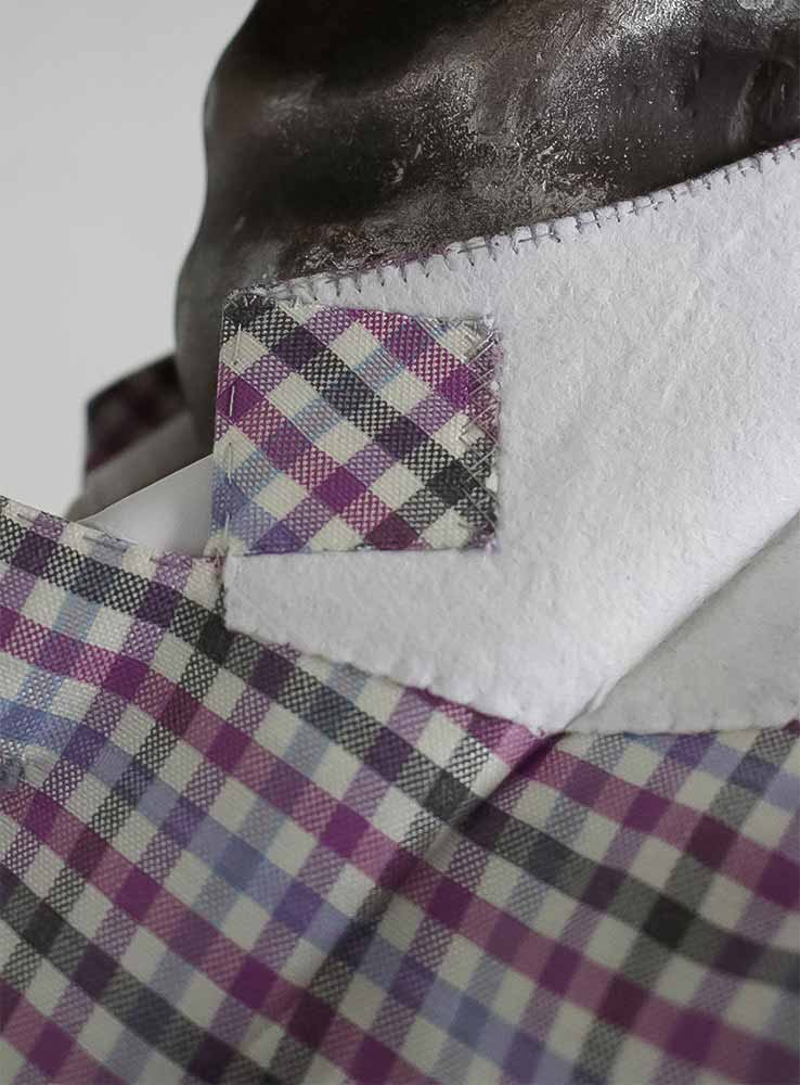 Undercollar tailor made blazer