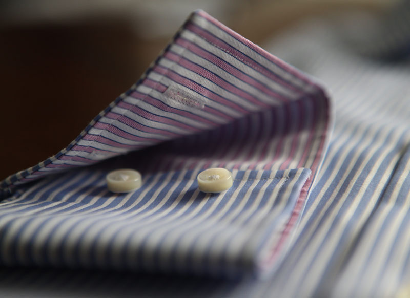 tailor made shirt cuffs